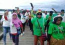 Paslon 'AYO' Tatap Muka Di Babo Ribuan Masyarakat Antusias Menyambut