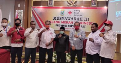 Nataniel Mandacan Terpilih Lagi Jadi Ketua PMI di Papua Barat, Begini Janjinya