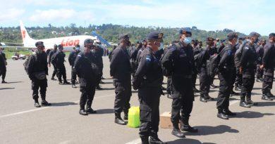 300 Personil BKO Pilkada 2020 Brimob Nusantara Sudah Tiba di Papua Barat
