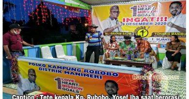 AYO Bongkar !!! Kampung Rubobo Siap Menangkan Paslon Ali – Yohanis, Ini Sosok Pemimpin Yang Punya Jiwa Melayani
