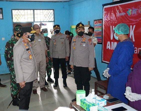 Polda Papua Barat Gelar Vaksinasi Presisi di SMK N 1 Sorong