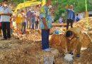 Disela Kegiatan Peletakan Batu Pertama Rumah Pastori, Bupati Kaimana Ingatkan Hal ini